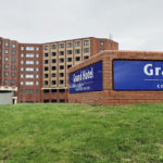 Picture of the Grand Hotel, Blackpool, from the rear